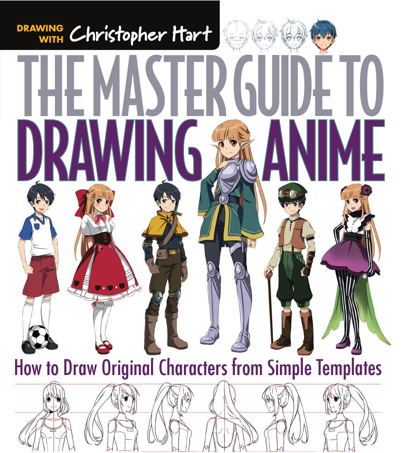 Character Design Book Free Download : The master guide to drawing anime how draw original