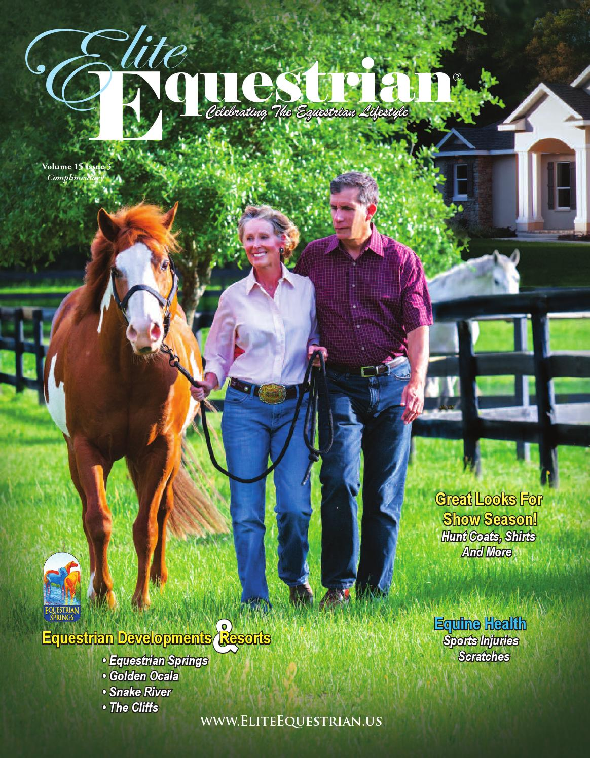 elite equestrian may june 15 issue by elite equestrian llc