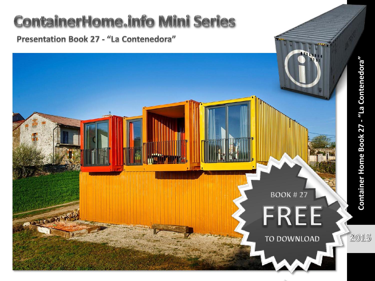 Shipping container homes book 27 by shippingcontainerhomes for Container home design software free