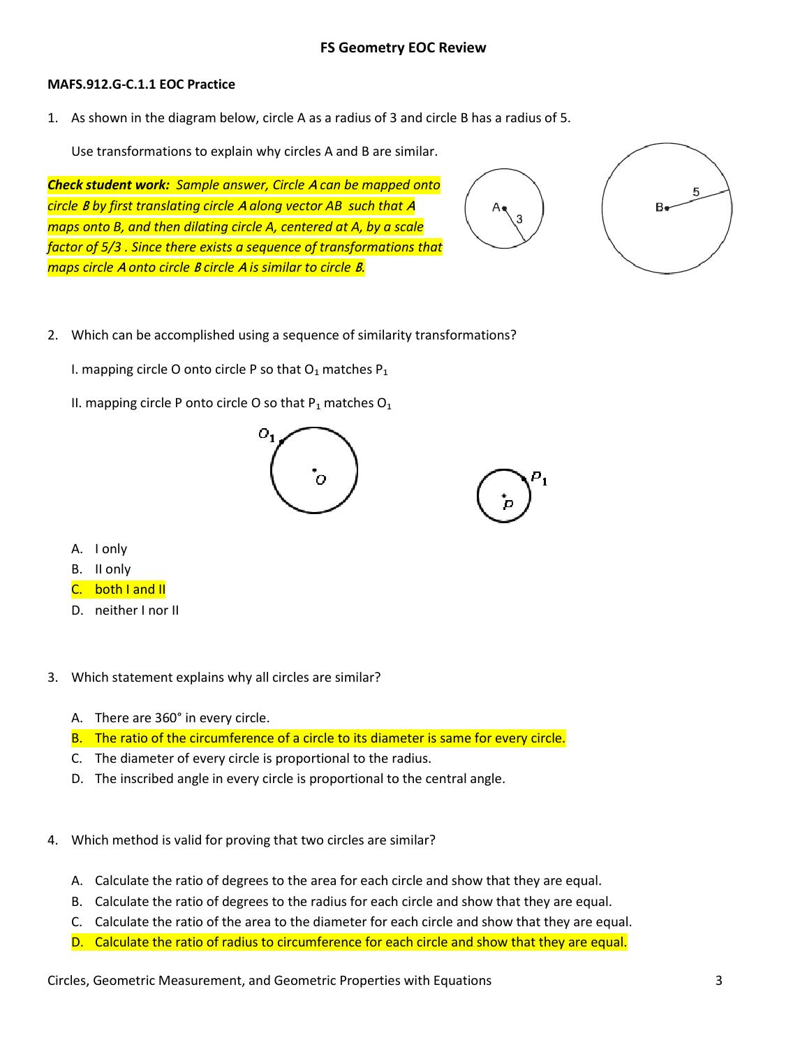 determining the ratio of circumference to diameter of a circle The circumference of a circle is  which represents the ratio of the circumference  if you could perfectly measure every circle's diameter and circumference,.