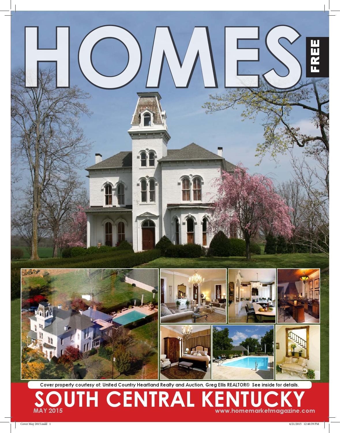 South central ky homes may 2015 by home market magazine for Kentucky home builders