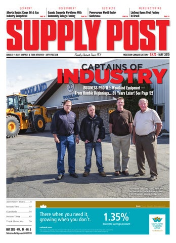 Supply Post Western Cover - May 2015
