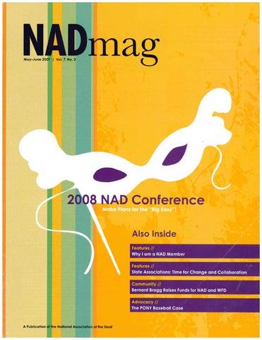 NADmag 2007 Vol. 7 No. 3