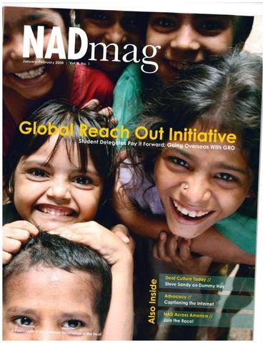 NADmag 2008 Vol. 8 No. 1