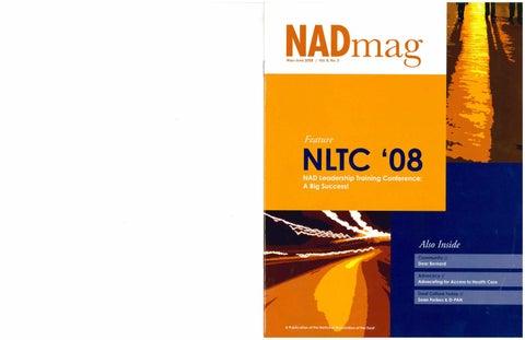 NADmag 2008 Vol. 8 No. 3