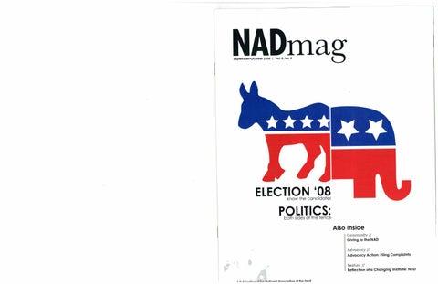 NADmag 2008 Vol. 8 No. 5