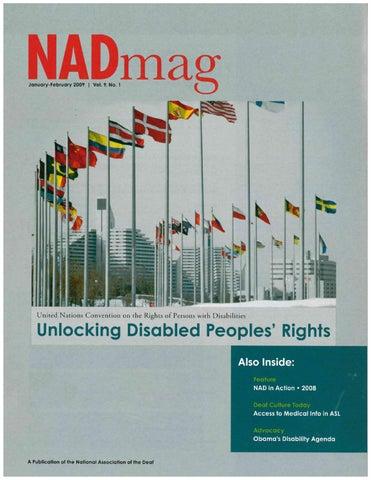 NADmag 2009 Vol. 9 No. 1