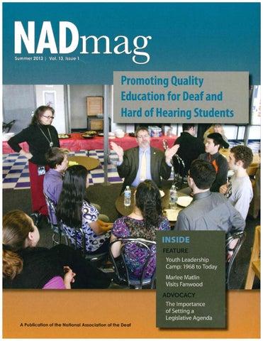 NADmag 2013 Vol. 13 Iss. 1