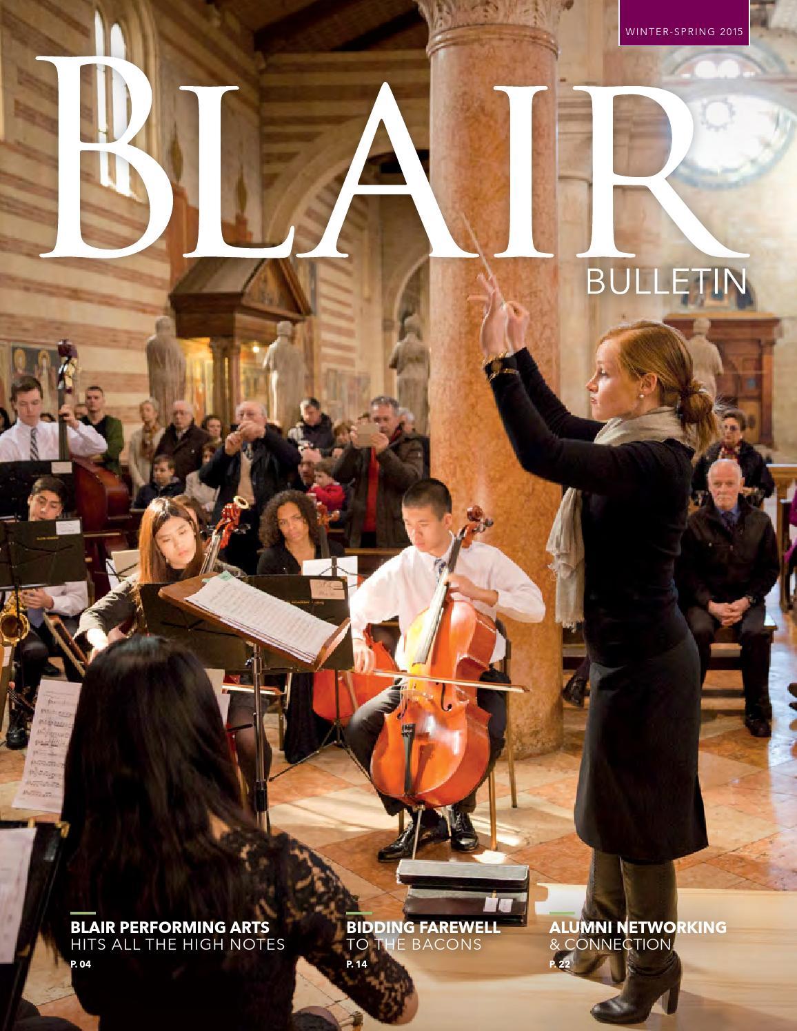 winter spring bulletin by blair academy issuu