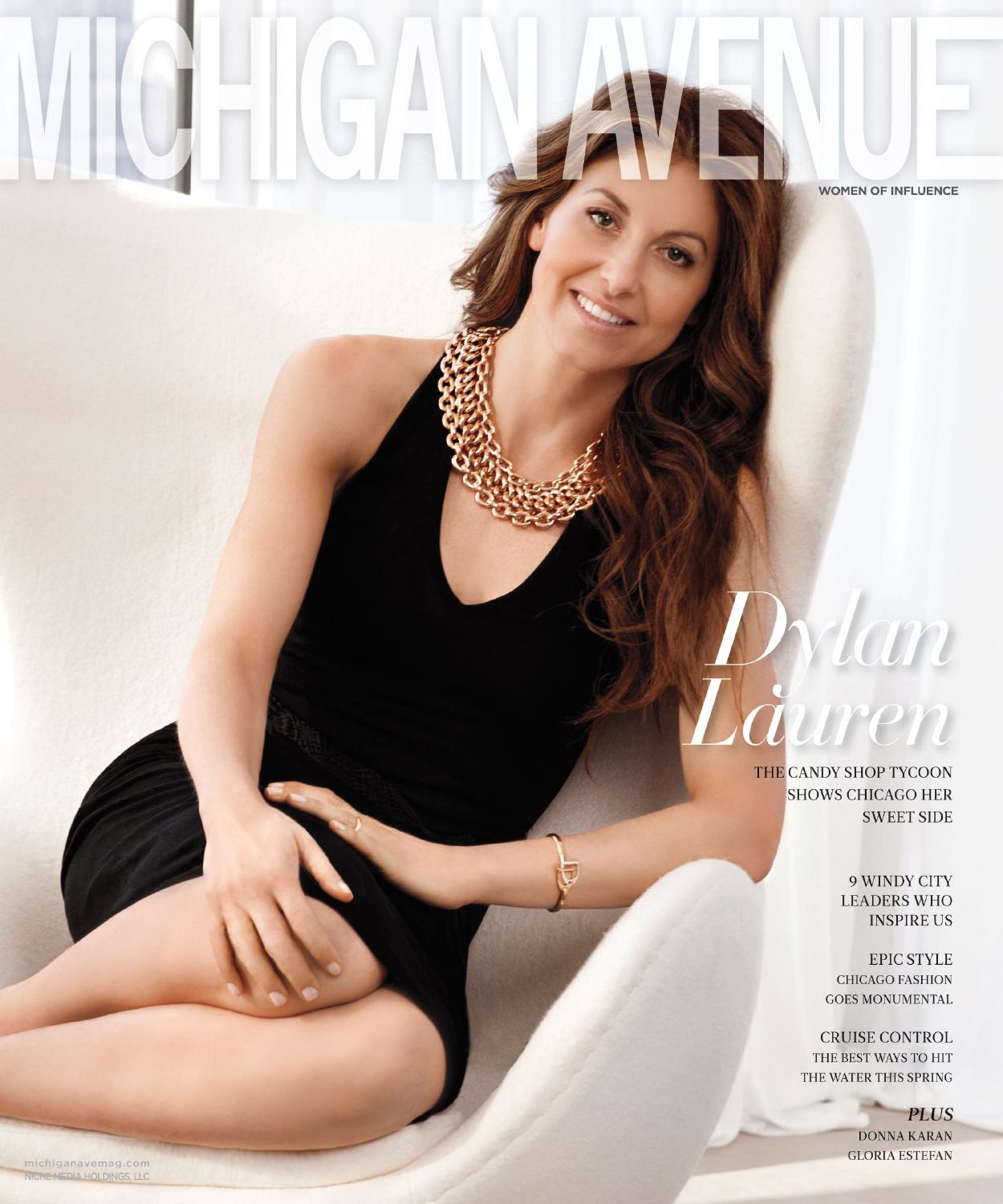 Michigan Avenue 2015 Issue 3 May June Dylan Lauren