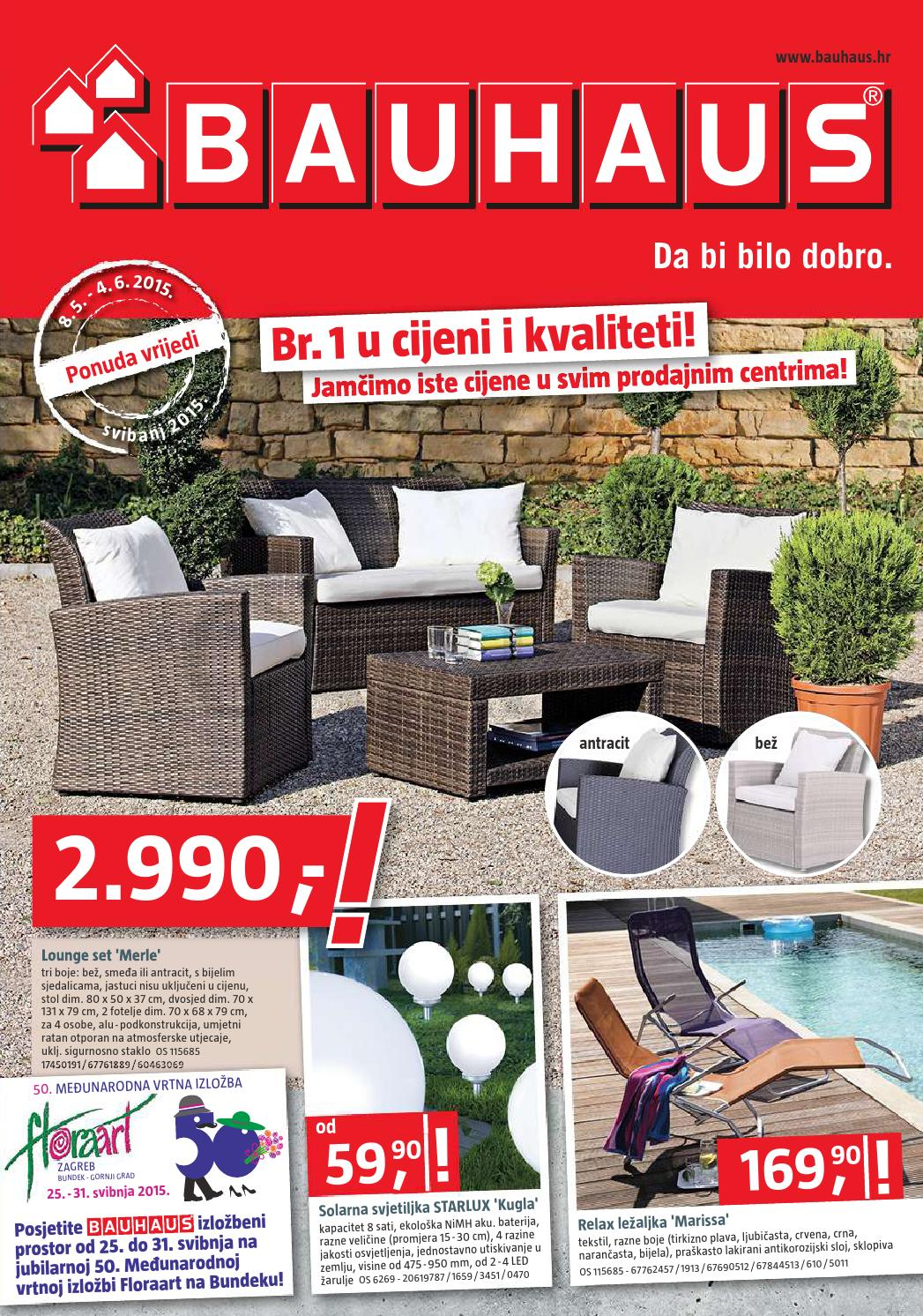Bauhaus katalog akcija od 08 05 04 06 2015 by for Bauhaus pool katalog 2016