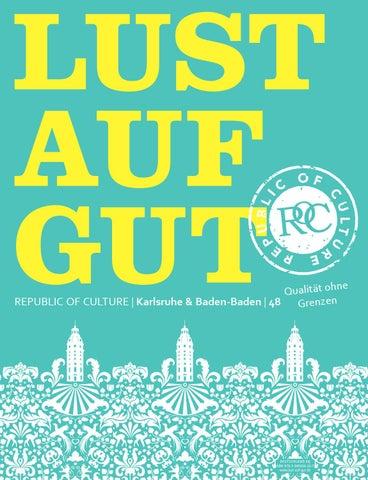LUST AUF GUT Magazin | Karlsruhe & Baden-Baden Nr. 48