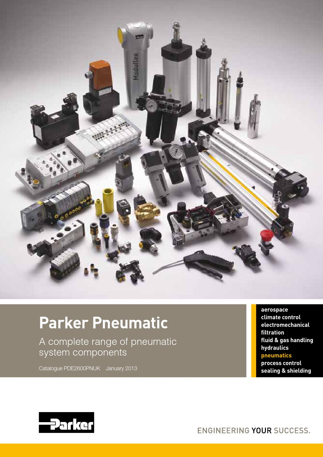 Parker Pneumatic Catalogue Deel 1 By Wiltec B V Issuu