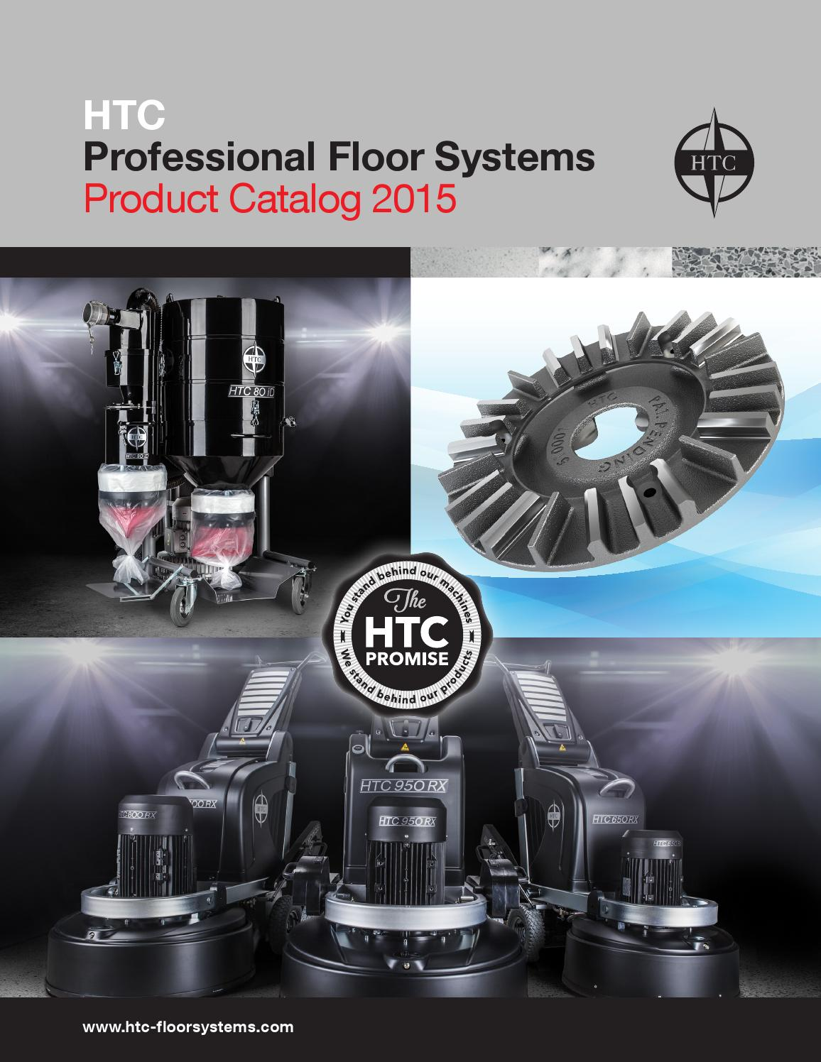 Htc Professional Floor Systems 2015 North America Catalog