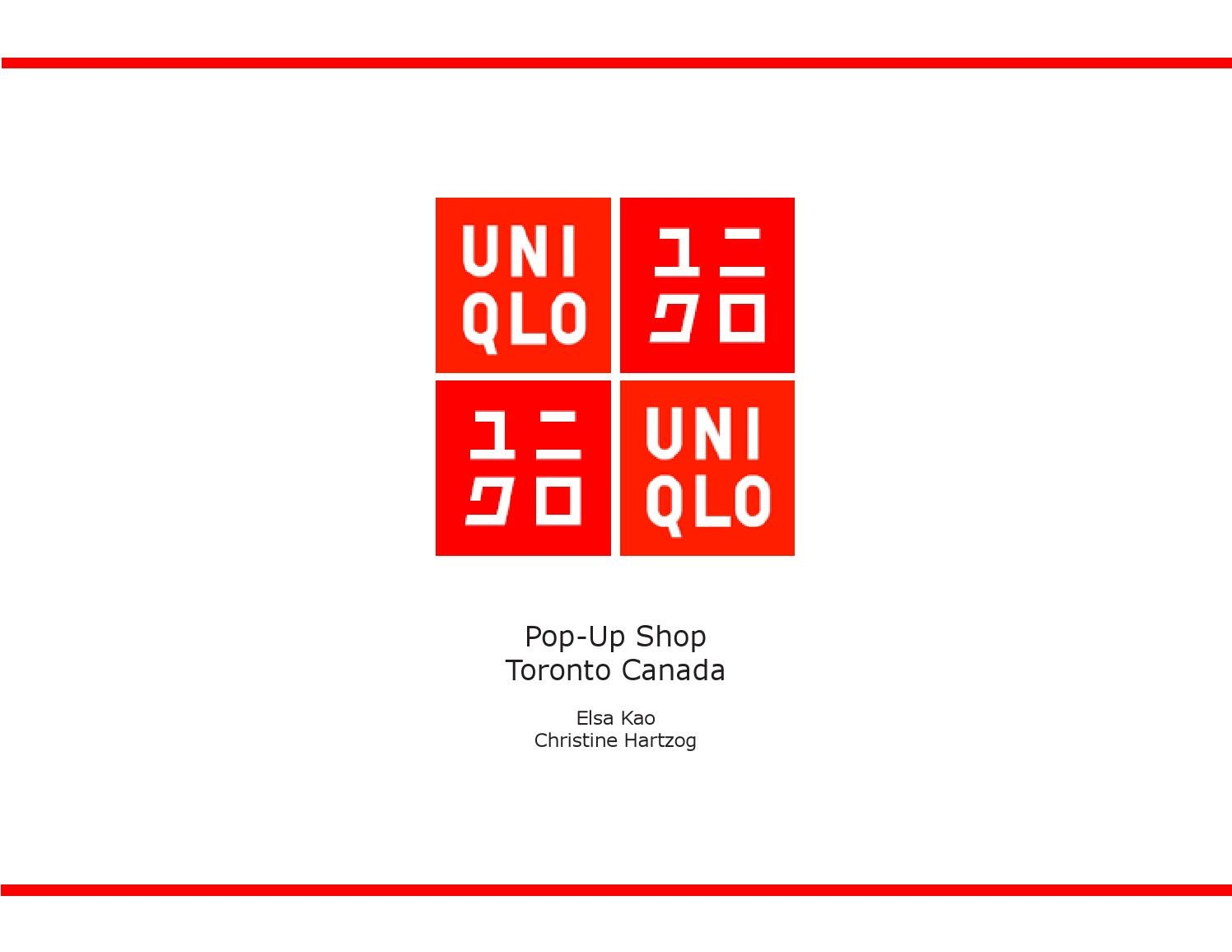 uniqlo marketing plan On jul 1, 2015, roy larke published the chapter: uniqlo: the next ten years in the book: strategic marketing creating competitive advantage.