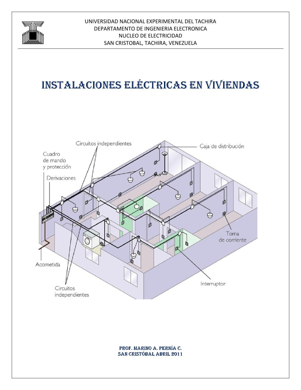 Instalaciones electricas en viviendas by jesantos issuu for Como instalar una terma electrica