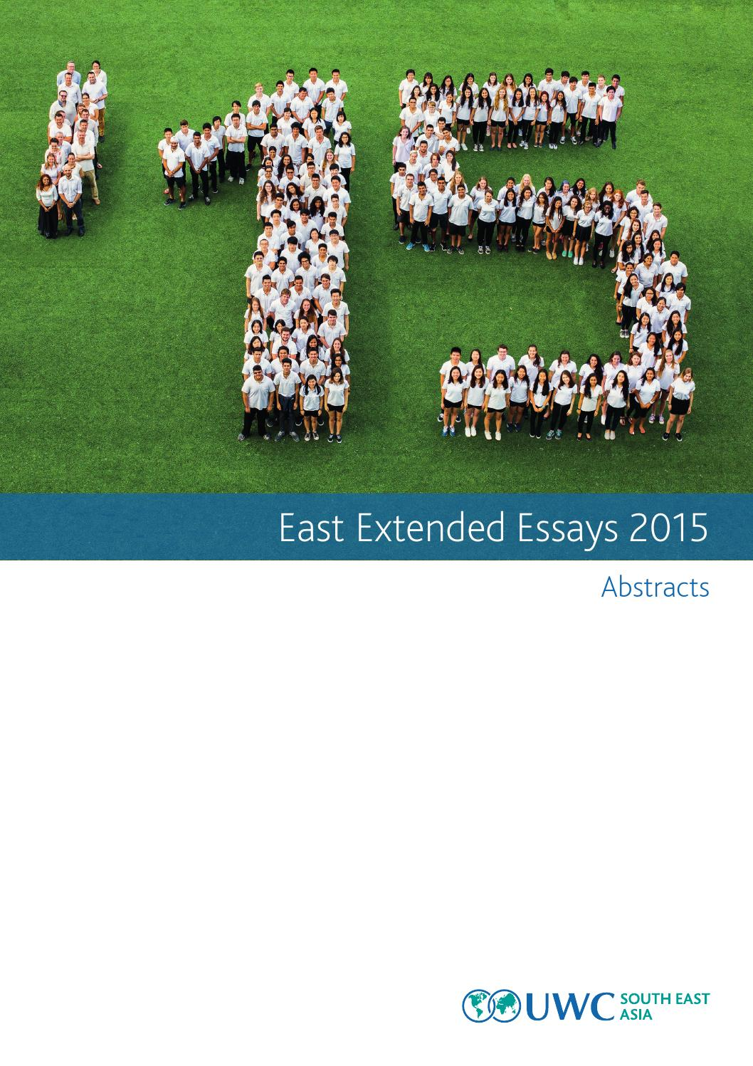 145com 1415 east extended essays web by uwcsea