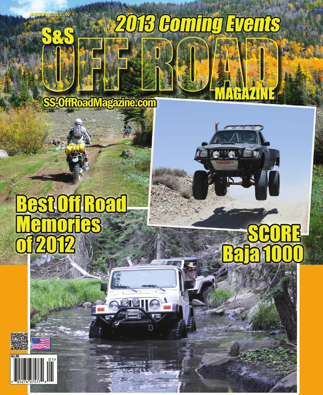 s s off road magazine january 2013 by s s off road magazine issuu. Black Bedroom Furniture Sets. Home Design Ideas