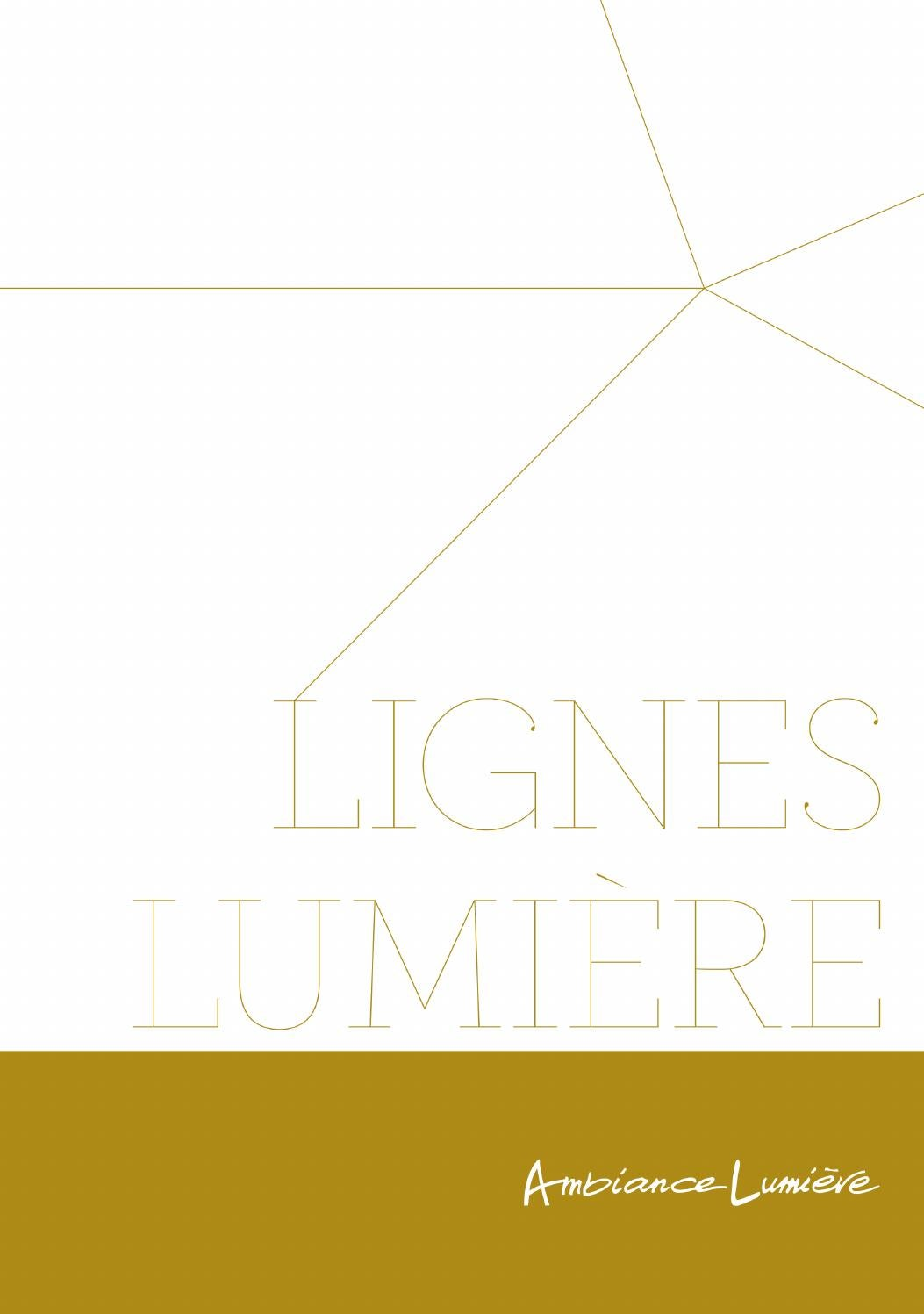 ambiance lumiere catalogue lignes lumiere by ambiance. Black Bedroom Furniture Sets. Home Design Ideas