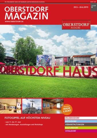 Oberstdorf Magazin 06/2015