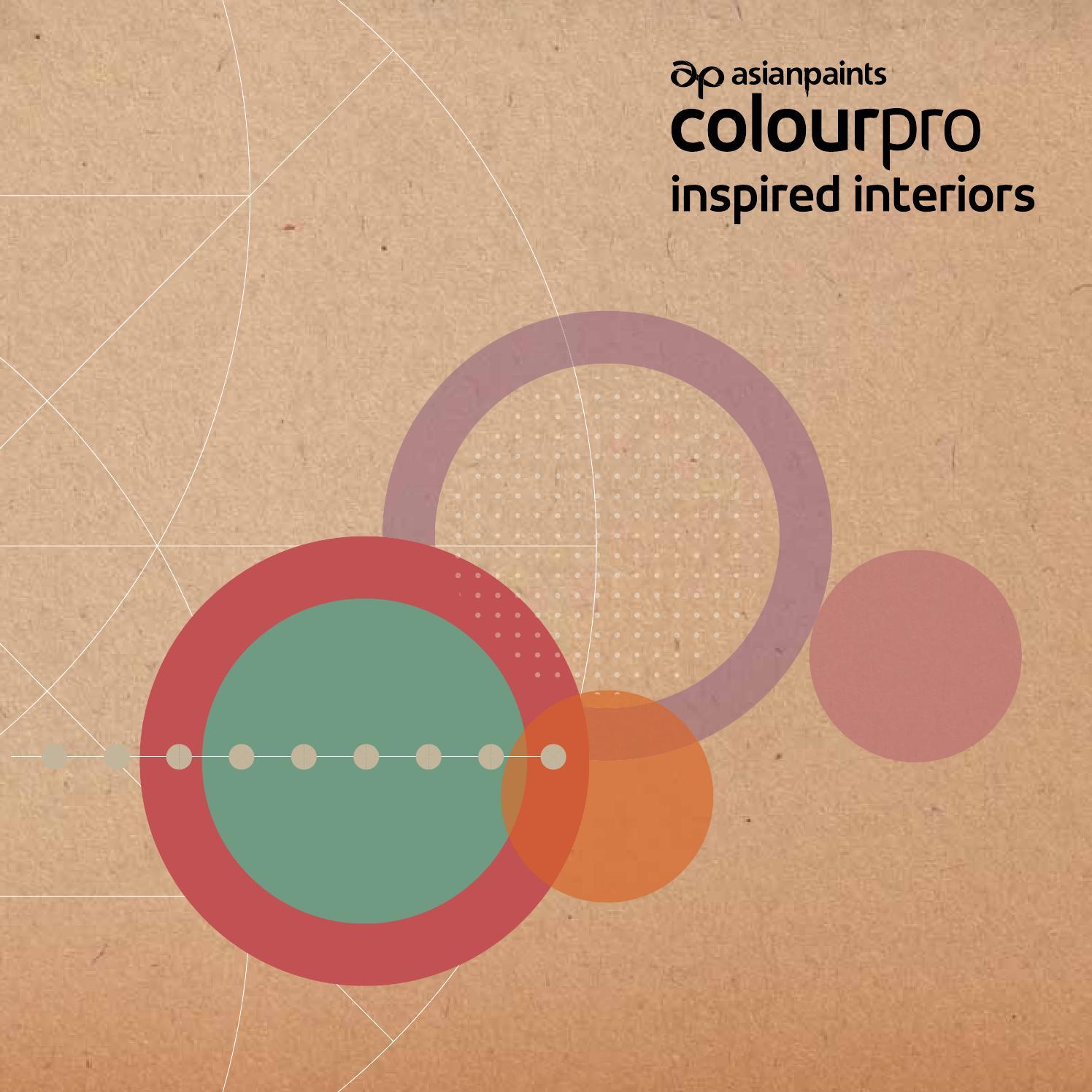 Asian Paints Interior Colour Combination Catalogue Pdf: Asian Paints, Colour Pro Inspired Interiors- Book By Tsk