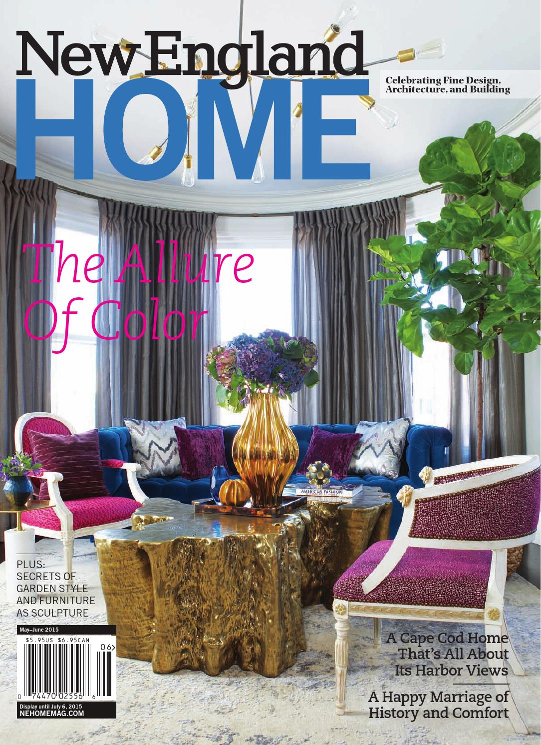 New england home march april 2015 by new england home magazine llc ...
