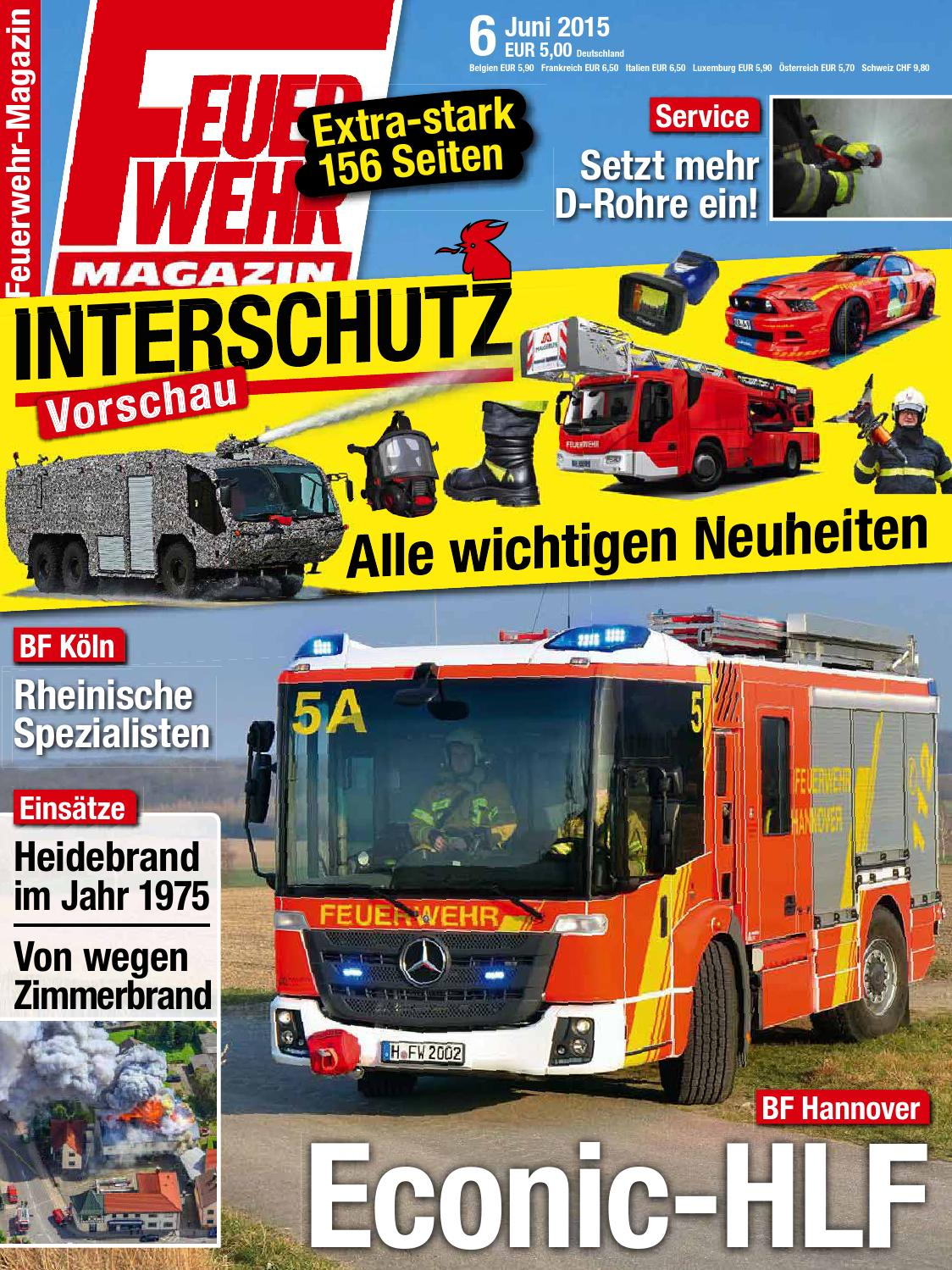 Feuerwehr magazin april 2015 by Augusto Dantas - issuu