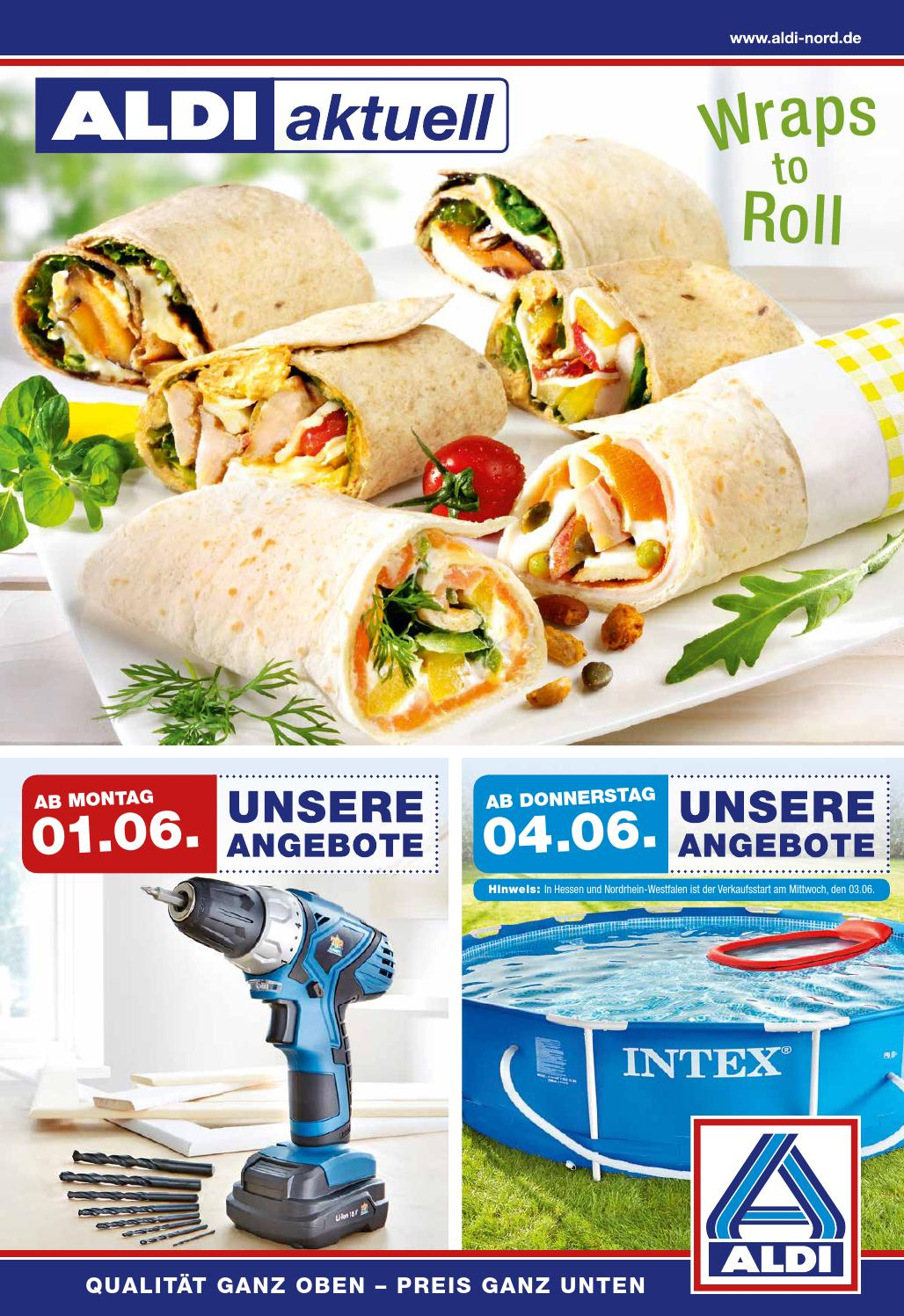 Aldi nord angebote 1 6juni2015 by issuu for Gartenpool aldi nord 2015