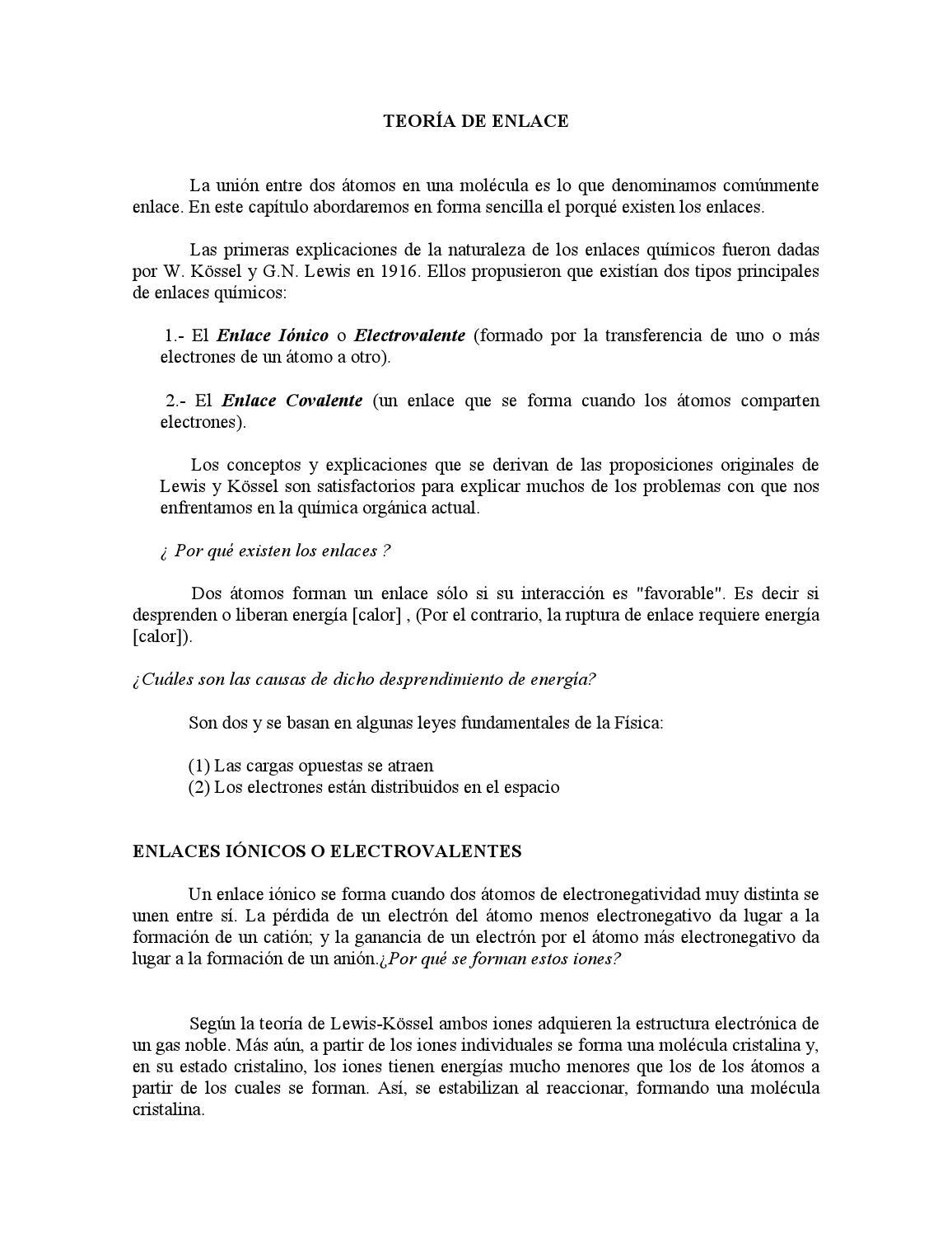 Trabajo quimica organica by carolina issuu for Resumen del libro quimica en la cocina