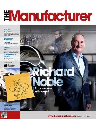 The Manufacturer June 2015