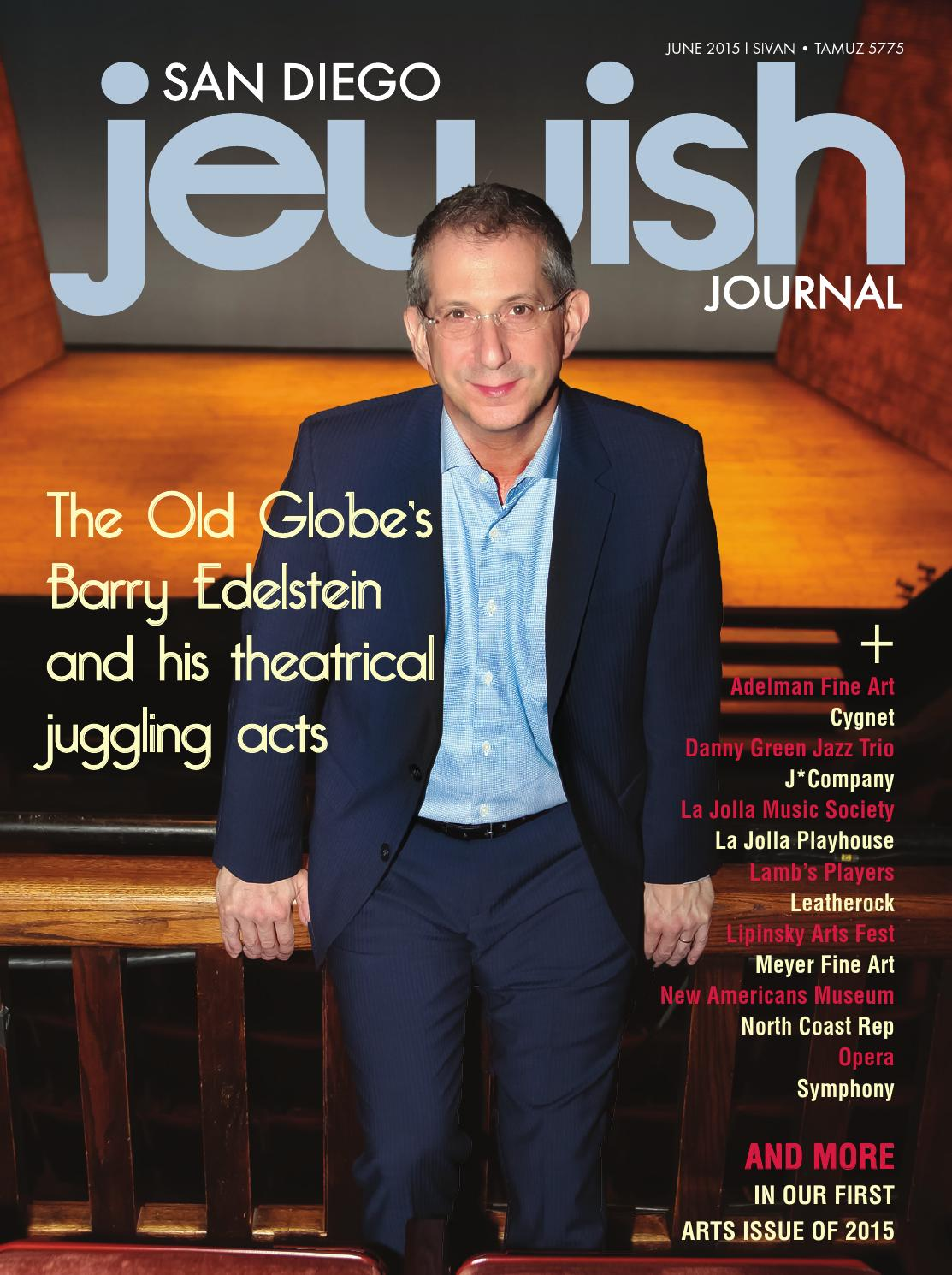 San Diego Jewish Journal June 2015 By Sd Jewish Journal