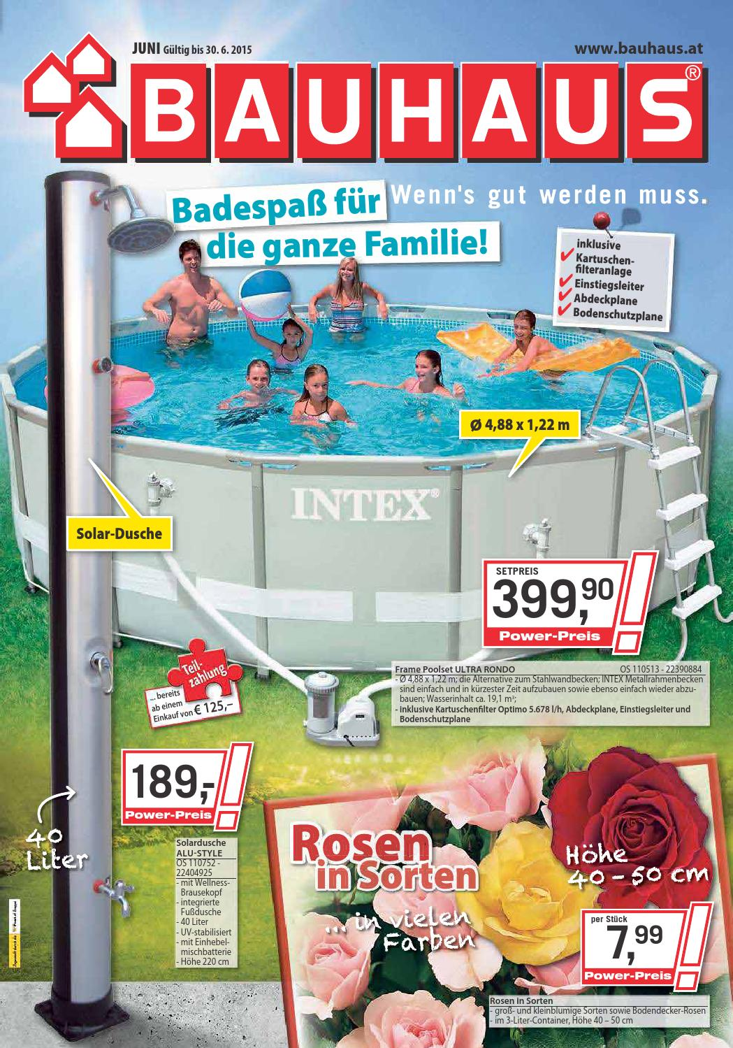 Bauhaus angebote 1 30juni2015 by issuu for Bauhaus poolset