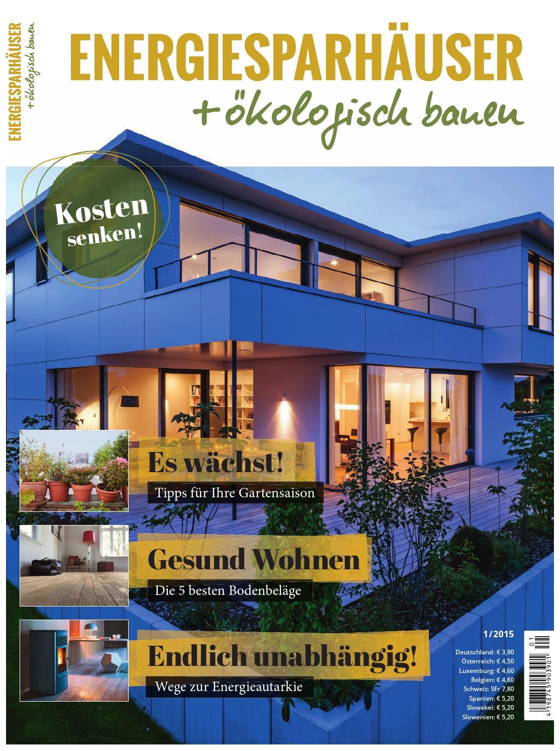 nergiesparhäuser + ökologisch bauen 1/2014 by Family Home Verlag ...