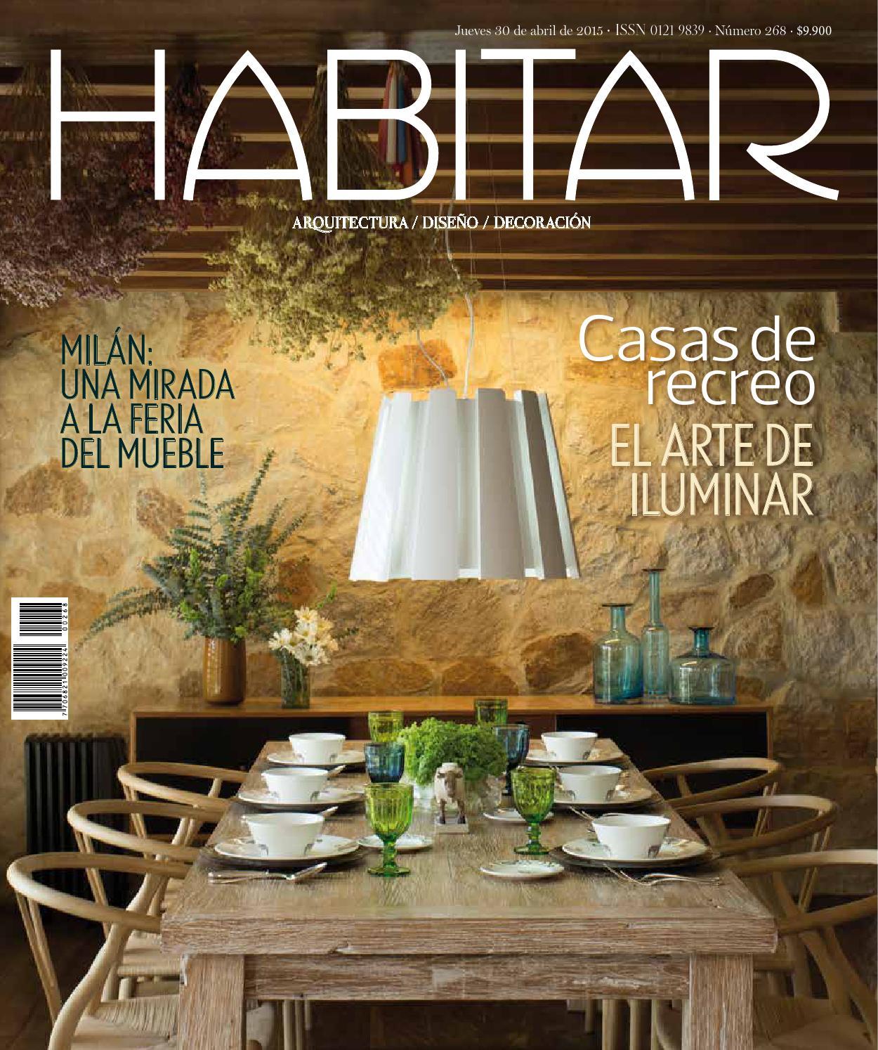 Habitar 268 by revista metrocuadrado issuu Arquitectura decoracion de interiores