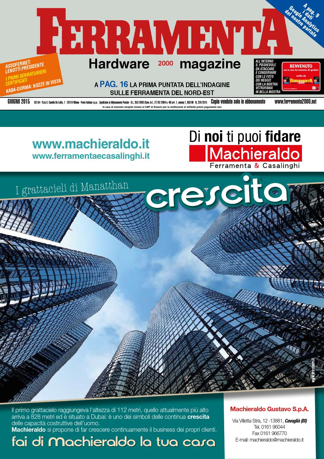 Ferramenta giugno 2015 by Compagnia Editoriale Italiana - issuu