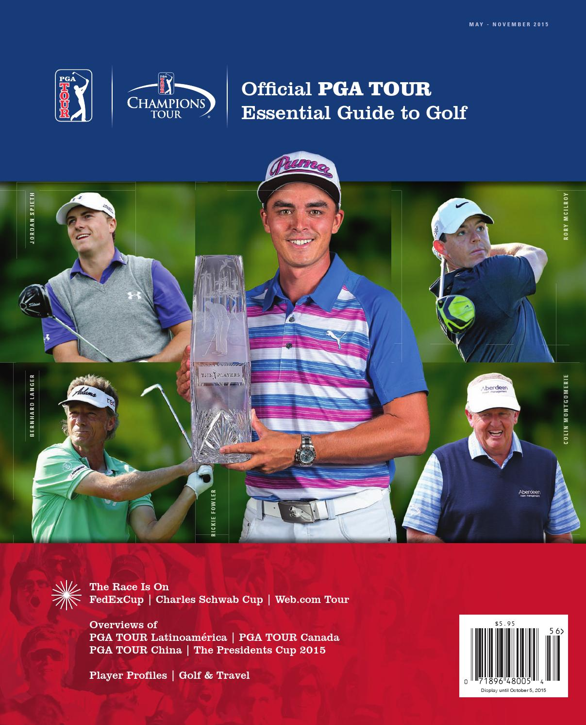 official pga tour essential guide to golf by magazine