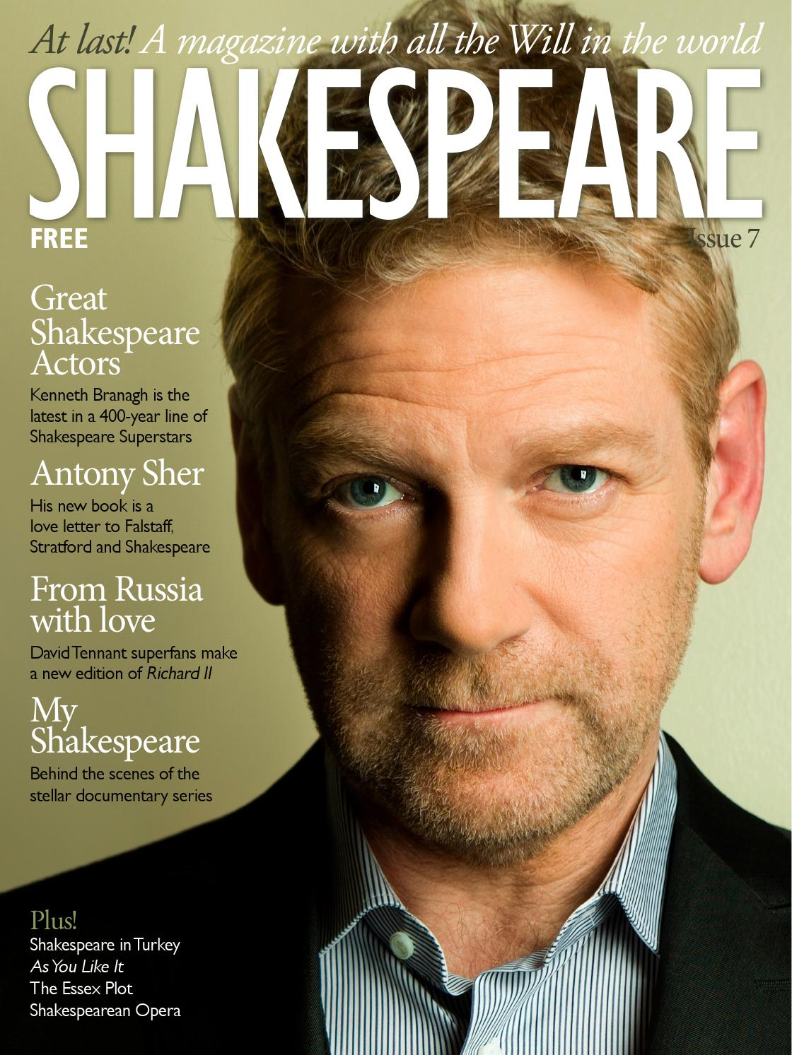 shakespeare magazine issuu shakespeare magazine 07