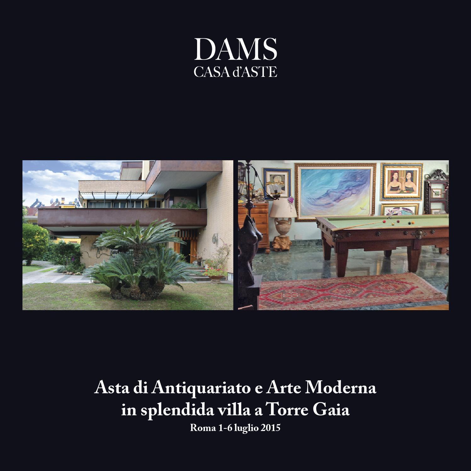 Asta di antiquariato e arte moderna a roma 1 6 luglio 2015 by dams casa aste issuu - Aste arredamento casa ...