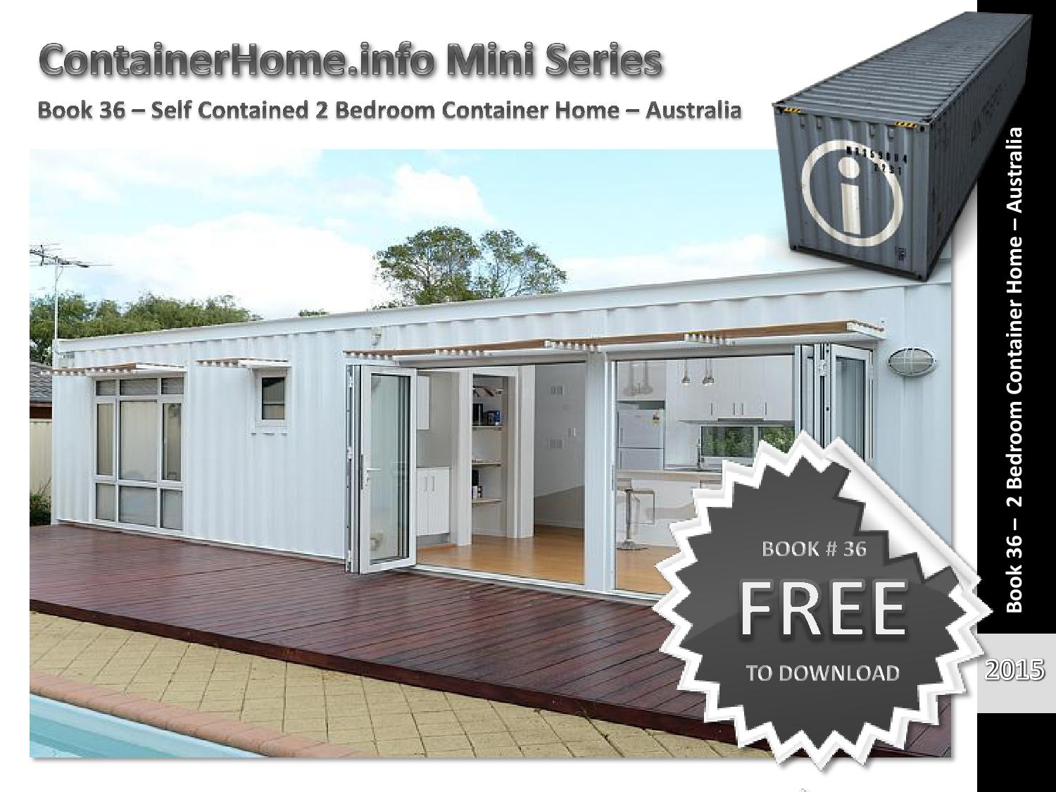 Shipping container homes book 36 by shippingcontainerhomes - Shipping container home design kit download ...