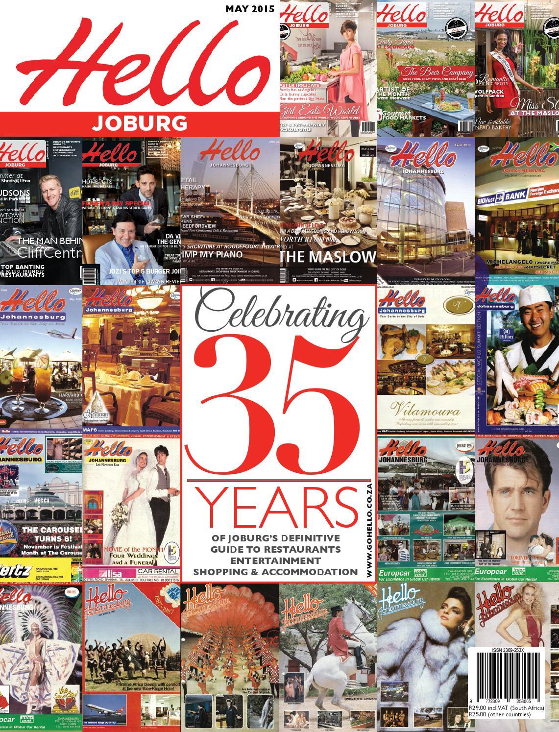 Hello Joburg magazine April      by Hello Joburg   issuu Issuu