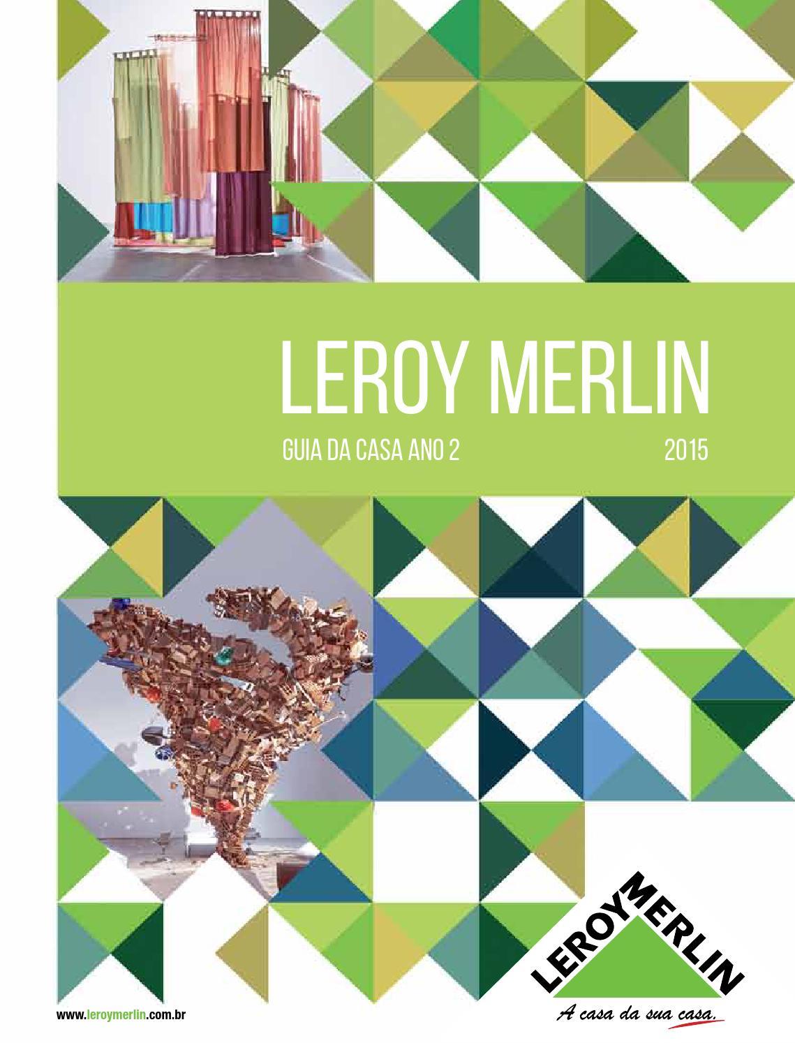 Guia da casa leroy merlin 2015 by arte target issuu for Guia pasacables leroy merlin
