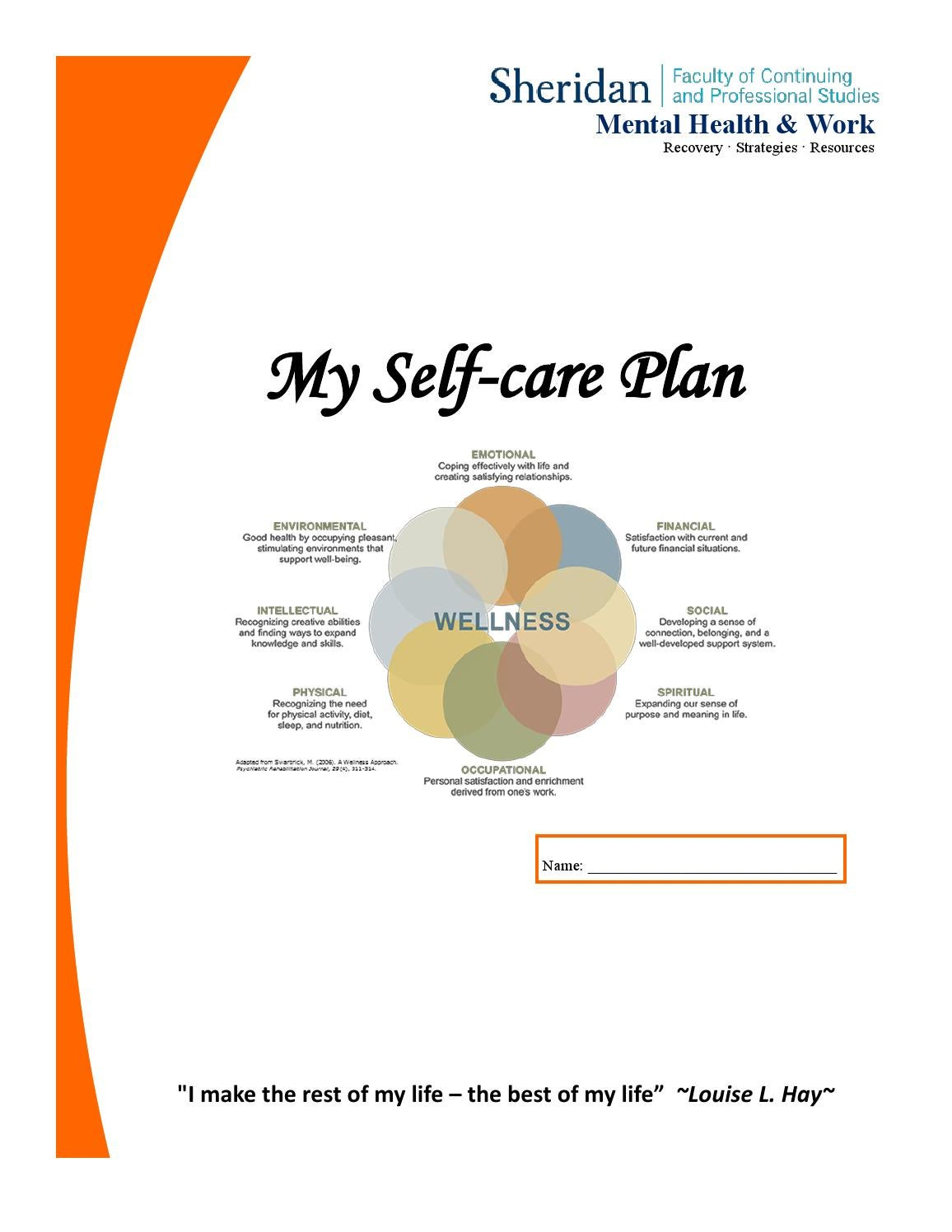 My self care plan by luhuong - issuu