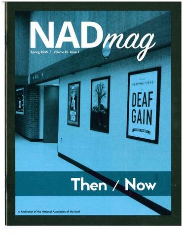 NADmag 2015 Vol. 15 Iss. 1