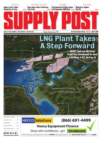Supply Post Western Cover - July 2015