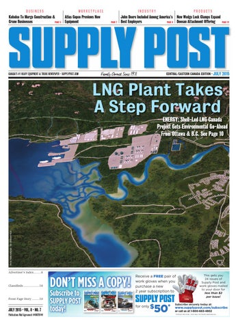 Supply Post Eastern Cover - July 2015