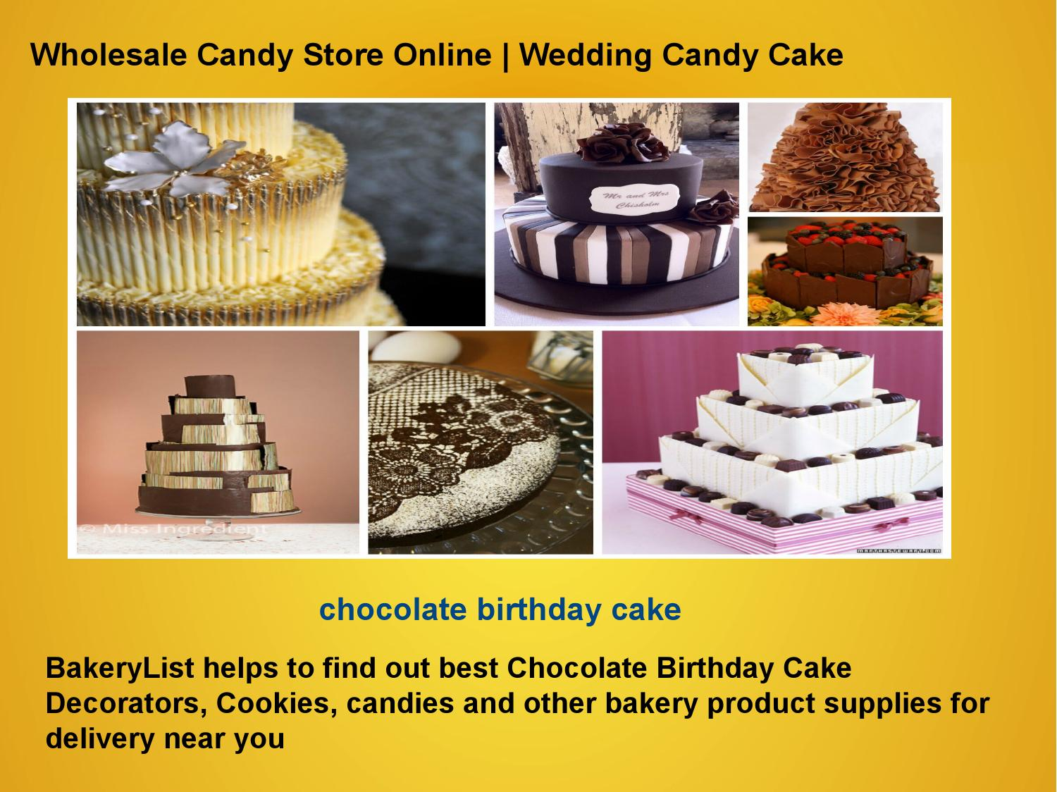 Cake Arts Bakery And Supplies : Birthday cake decorators by BakeryList - issuu