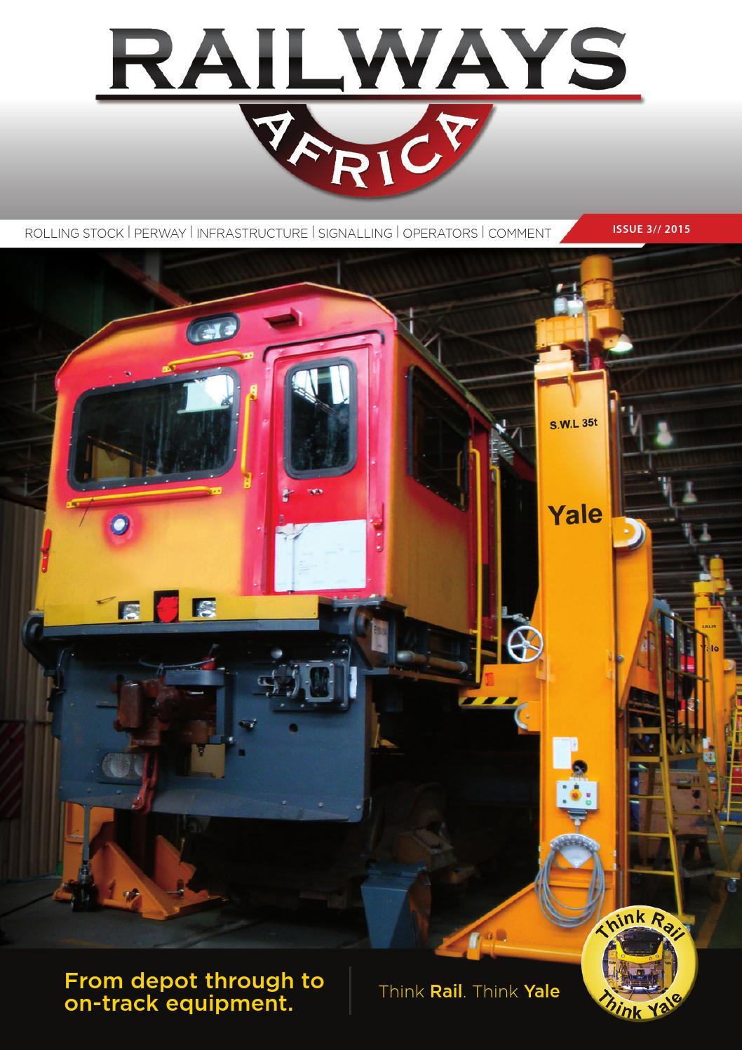 Railways Africa Issue 3 2015 By Railways Africa Issuu