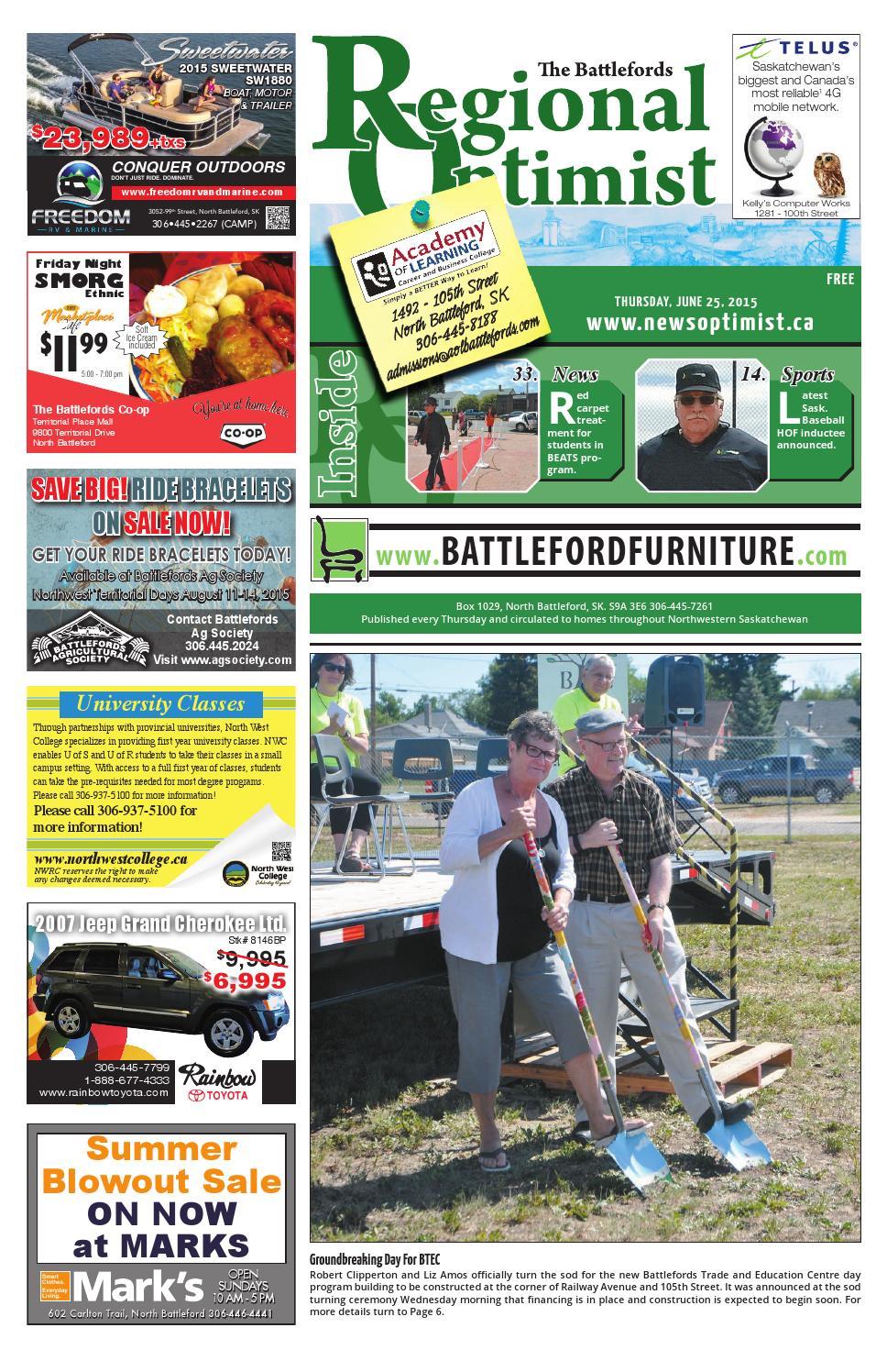 Regional Optimist June 25 by Battlefords News Optimist - issuu