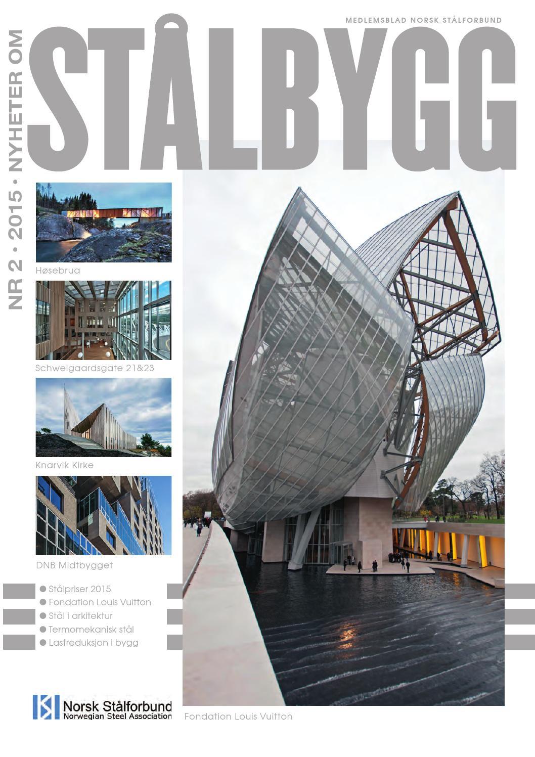 Staalbygg 2 2015 by nyheter om stÅlbygg   issuu
