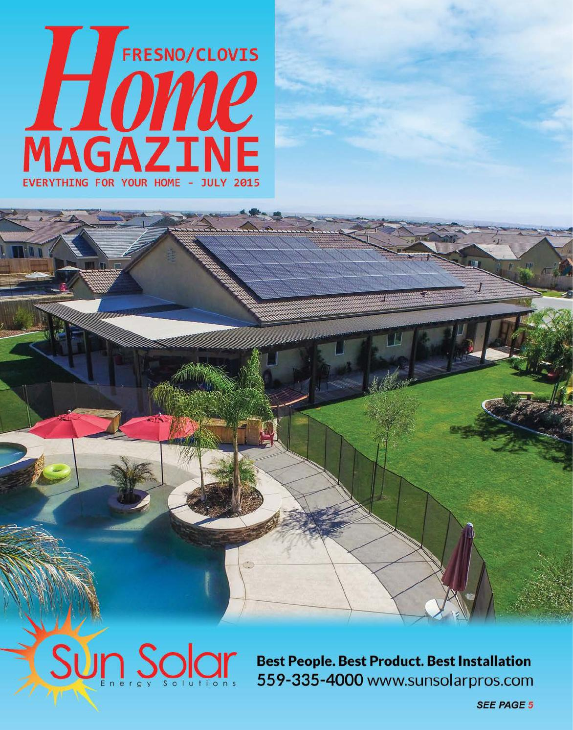 Fresno home mag july 2015 by bakersfield fresno home for Bakersfield home magazine
